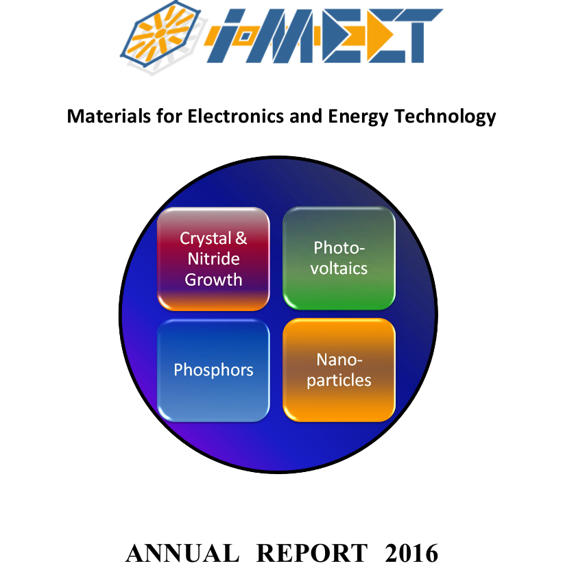 "Towards entry ""i-MEET´s Annual Report 2016 online available"""