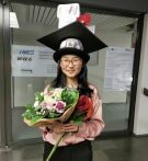 "Towards entry ""Congratulations to Ening for finishing her PhD exam with very good success!"""