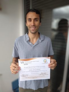 "Towards entry ""Daniel Castillo honoured with the award from the Colombian council of chemical engineers"""